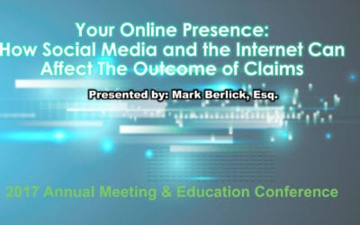 Your Online Presence: How Social Media and the Internet Can Affect The Outcome of Claims