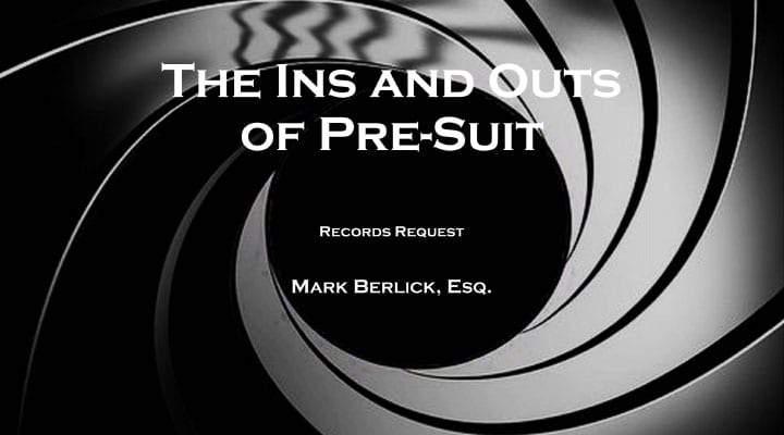 The Ins and Outs Of Presuit